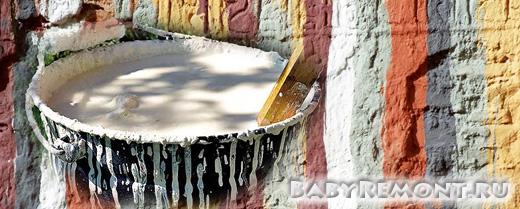 Как побелить потолок мелом или известью своими руками