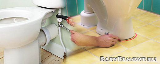 Как установить унитаз своими руками - Инструкция по демонтажу и монтажу