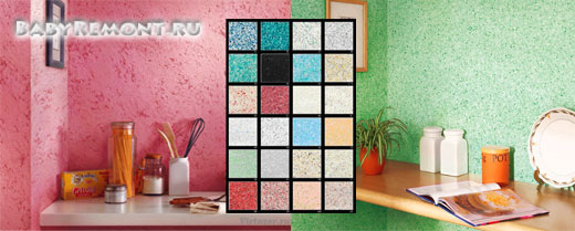 Как нанести декоративные мультиколорные мозаичные краски своими руками