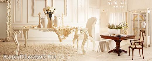 Итальянская мебель для гостиной – предмет особой гордости хозяина дома