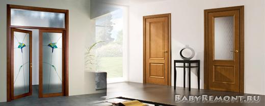 Какие бывают виды облицовки межкомнатных дверей