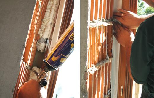 Проведение изоляционных работ окна