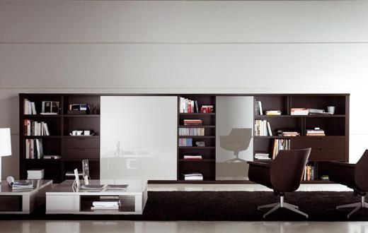 Современная мебельная стенка (секция)