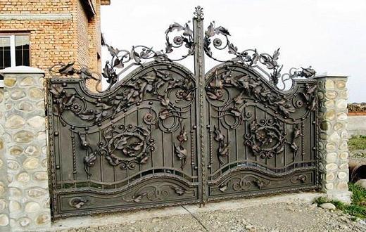 Сварные и кованые ворота