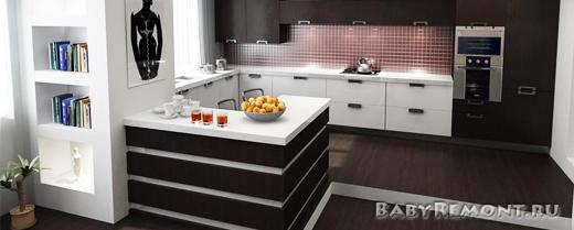 Как правильно расположить мебель на кухне
