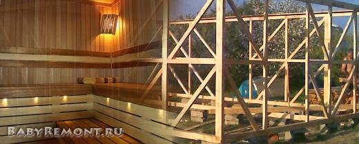 Основные принципы строительства каркасной бани