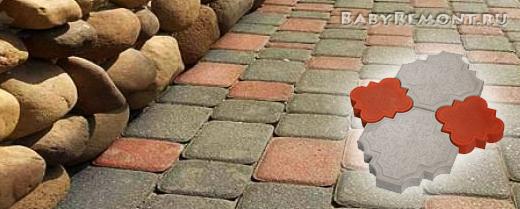 Какие бывают виды тротуарной плитки по технологии изготовления