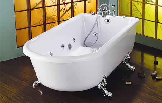 Стальная ванна для ванной комнаты