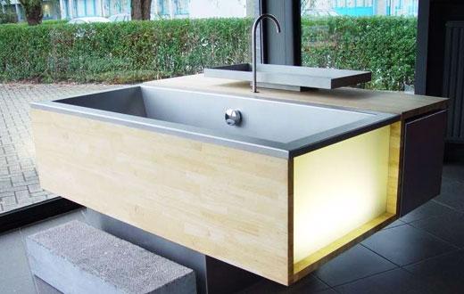 Эксклюзивные виды ванн на фото