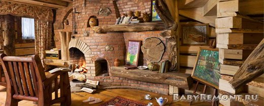 Особенности деревянного интерьера в современных условиях