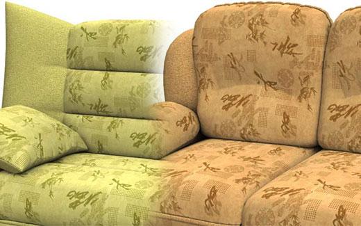 Обивка с флоком для мягкой мебели