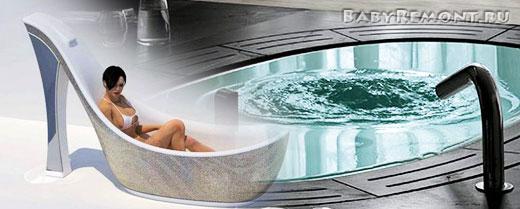 Какую ванну лучше выбрать для интерьера ванной комнаты