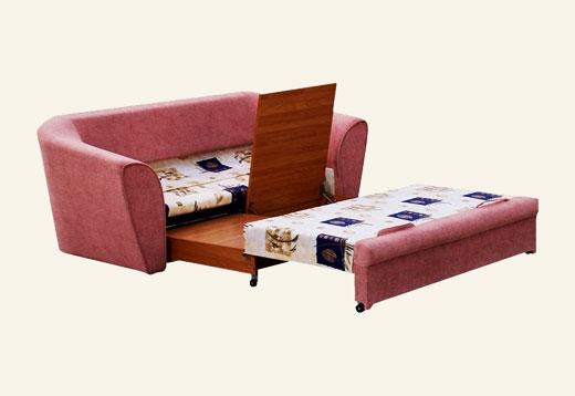 Выкатной диван для спальни