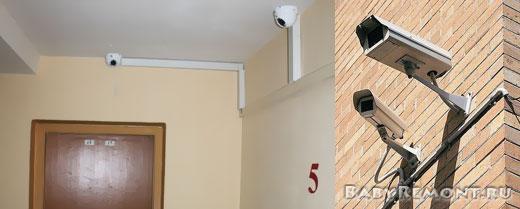 Система видеонаблюдения для подъездов и магазинов