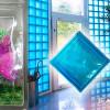 Как сделать укладку стены из стеклоблоков своими руками