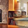 Использование печей и каминов, чтобы в доме было тепло