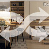 Преимущества совмещения кухни с гостиной