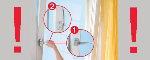 Безопасность ребёнка, окно и ребёнок, защита окна от открывания ребёнком