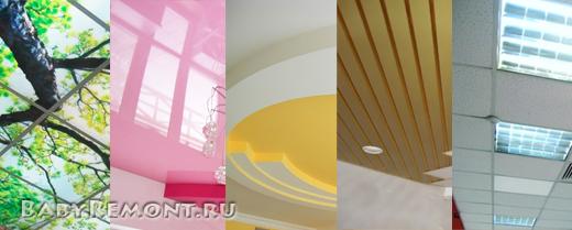 Какие бывают виды подвесных потолков - Их место в дизайне жилых и общественных помещений