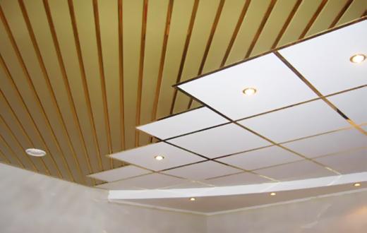 Реечные и кассетные металлические потолки