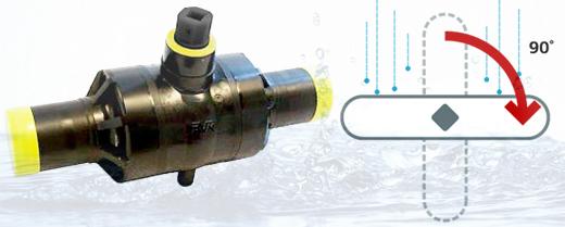 Преимущества ПЭ кранов запорной арматуры и труб при строительстве водо- и газопроводов