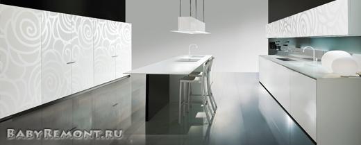 Как правильно создать интерьер белой кухни