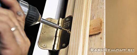 Как установить межкомнатные двери своими руками