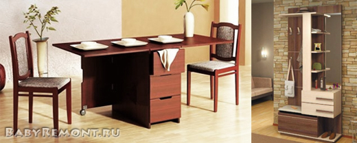 Какую мебель выбрать для маленькой квартиры