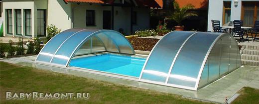Какой бассейн выбрать для дачного участка