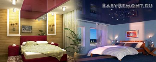 Как быстро заменить потолок в спальне
