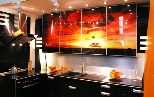 Фотопечать на кухне
