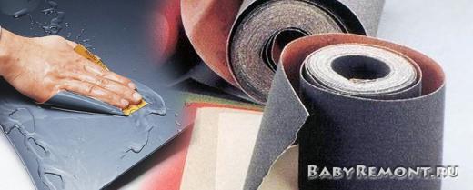 Как выбрать водостойкую наждачную бумагу на тканевой основе (шлифшкурку)