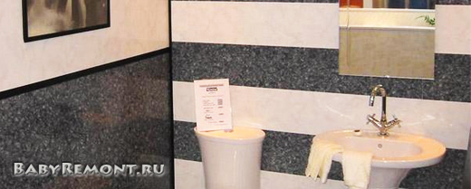 Преимущества отделки стен пластиковыми панелями в ванной комнате