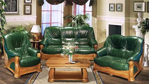 Обивка из кожи для мягкой мебели