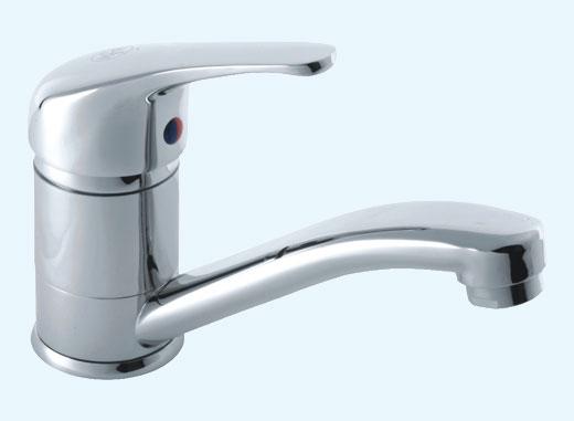 Смеситель с рычажком для ванной
