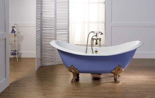 Чугунная ванна в ванную комнату