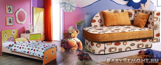 Какую выбрать мягкую и корпусную мебель для детской комнаты Вашего ребёнка