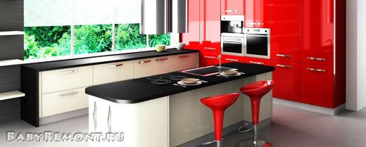 Особенности выполнения ремонтных работ на кухне