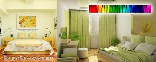 Правильное цветовое решение интерьера помещений